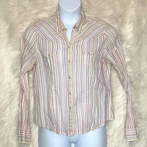 Aeropostale western style button up junior xl
